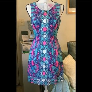 Lilly Pulitzer cute & colorful dress. Size 00